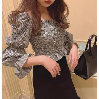 Lochie - ♡ shirring ribbon blouse ♡