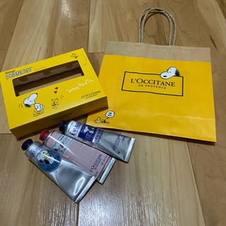 L'OCCITANE - 完売品! ロクシタン ハンドクリーム 限定スヌーピー