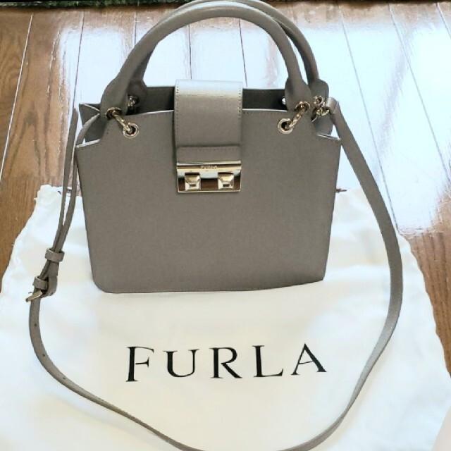 Furla(フルラ)の【美品】FURLA フルラBELLA サッチェル ショルダーバッグ ハンドバッグ レディースのバッグ(ショルダーバッグ)の商品写真