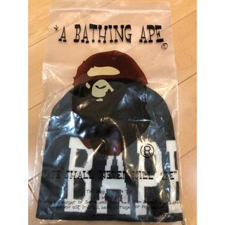 A BATHING APE - 【新品未使用】A BATHING APE ビーニー【完売】