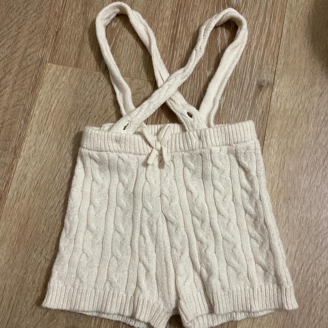 petit main(プティマイン)の美品♥︎petitmain♥︎ニットパンツ♥︎ キッズ/ベビー/マタニティのベビー服(~85cm)(パンツ)の商品写真