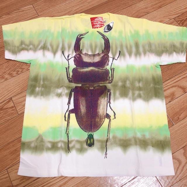 AHCAHCUM.muchacha(アチャチュムムチャチャ)のケィキィ クワガタプリントTシャツ 新品 レディースのトップス(Tシャツ(半袖/袖なし))の商品写真