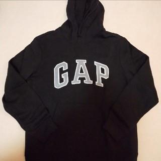 ギャップ(GAP)のGAP 黒パーカー メンズxs(パーカー)