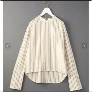 UNITED ARROWS - 新品6(ROKU)beauty&youth ストライプシャツ 値下げ