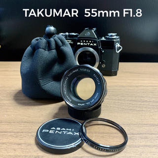 ペンタックス(PENTAX)のTAKUMAR  55mm  F1.8 M42 オールドレンズ(レンズ(単焦点))