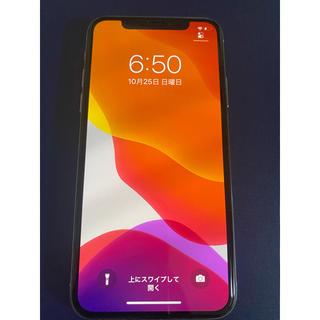 Apple - iPhone X  シルバー 256 GB SIMフリー