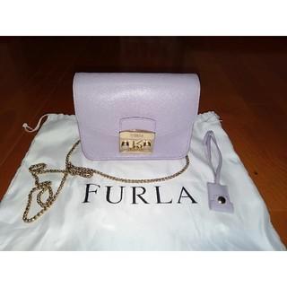 FURLAフルラメトロポリスチェーンバッグ