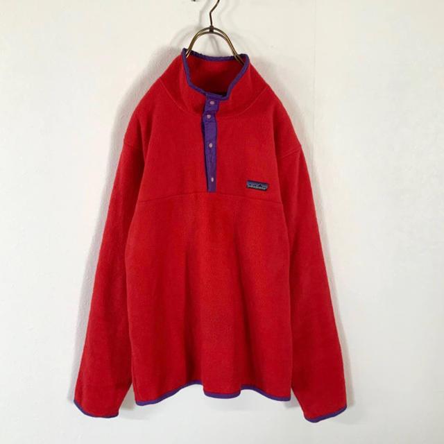 patagonia(パタゴニア)の希少 80's USA製 patagonia 三角タグ スナップt ヴィンテージ メンズのジャケット/アウター(その他)の商品写真