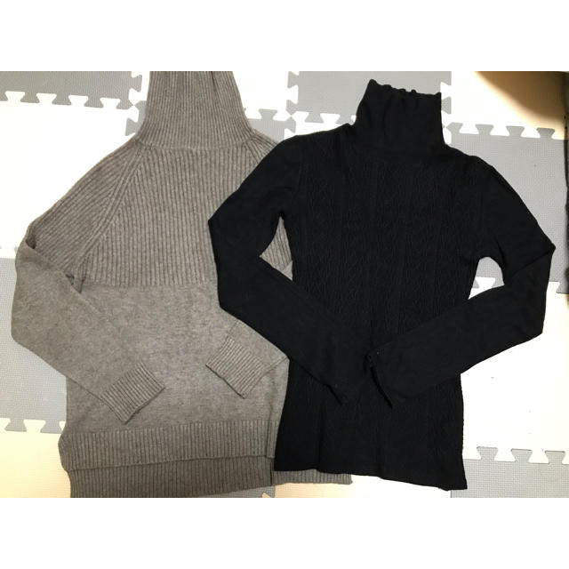 SLY(スライ)のガーリードール ハイネックリブニット スライ ニット アングリッド  マウジー レディースのトップス(ニット/セーター)の商品写真
