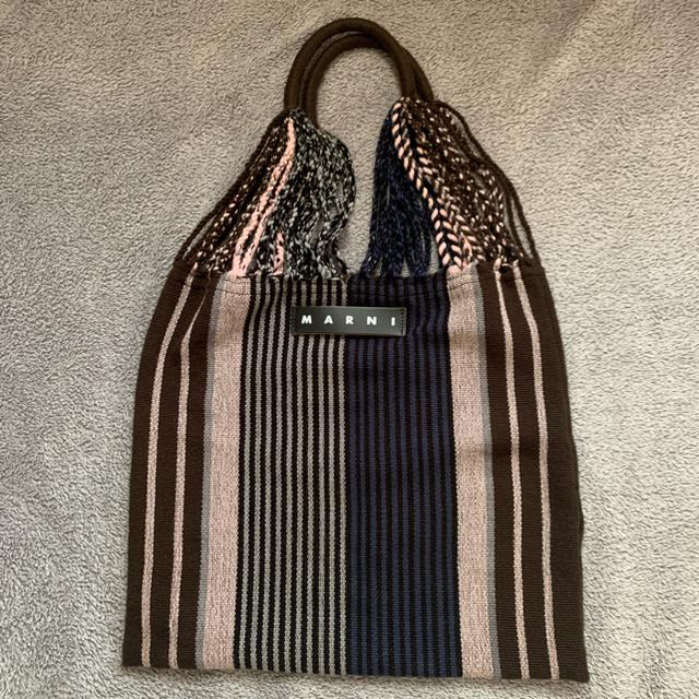 Marni(マルニ)のMARNI ハンモックバッグ ブルー レディースのバッグ(トートバッグ)の商品写真