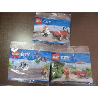 レゴ(Lego)のLEGOレゴシティ ミニセット ポップコーン / 消防 / スカイポリス(その他)