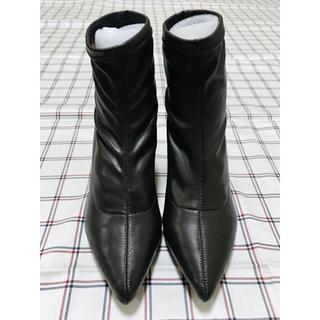 スライ(SLY)の◉未使用☆SLY ショートブーツ BROWN Sサイズ◉(ブーツ)