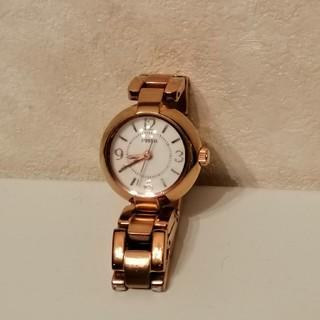 フォッシル(FOSSIL)のFOSSIL腕時計 レディース♡ピンクゴールド(腕時計)