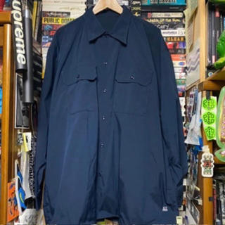 BEAMS - beams ssz a.h  shirts navy
