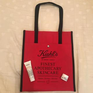 キールズ(Kiehl's)のキールズ ディープクレンジングジェル & 保湿クリーム & ノベルティ(サンプル/トライアルキット)