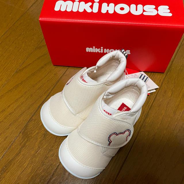 mikihouse(ミキハウス)のミキハウス ベビーシューズ ファーストシューズ キッズ/ベビー/マタニティのベビー靴/シューズ(~14cm)(スニーカー)の商品写真