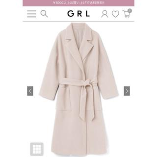 GRL - 早い者勝ち!白石麻衣 GRL オーバーサイズガウンコート