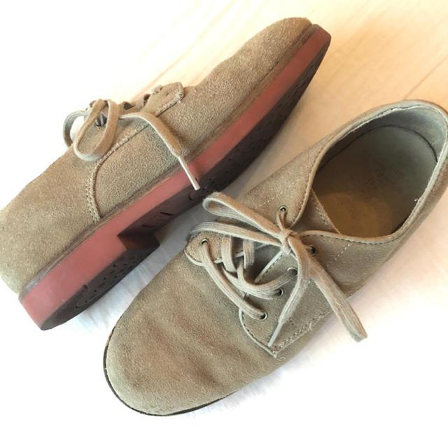 POLO RALPH LAUREN(ポロラルフローレン)のポロ ラルフローレン  スウェードレザーフラットシューズスニーカー  レディースの靴/シューズ(スニーカー)の商品写真