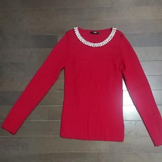 salire - セーター赤 新品未使用 Mサイズ サリア