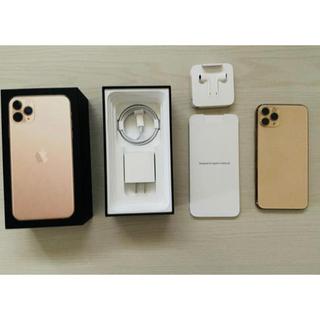 iPhone - Iphone 11 pro ゴールド 256GB sim free