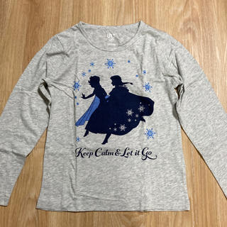UNIQLO - ユニクロ アナと雪の女王 長袖Tシャツ 130