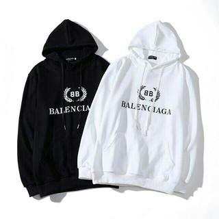 Balenciaga - [2枚15500円]☆セール☆BALENCIAGAバレンシアガパーカーフード付き