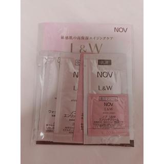ノブ(NOV)のNOV  敏感肌の高保湿エイジングケア(サンプル/トライアルキット)