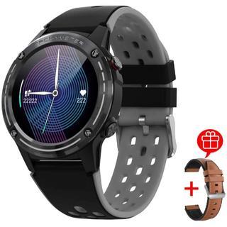 新しいランニングウォッチ GPS スマートウォッチ(グレー)(腕時計(デジタル))