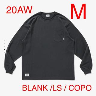 ダブルタップス(W)taps)のBLANK / LS / COPO グレイ M(Tシャツ/カットソー(七分/長袖))