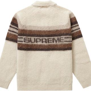 Supreme - Supreme Brushed Wool Zip Up Sweater