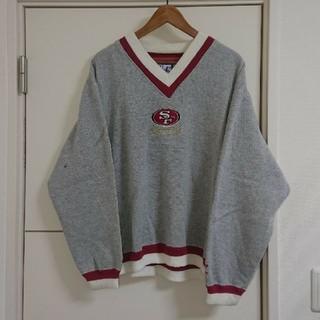 NFL 49ers トレーナー 刺繍ロゴ 古着 アメフト