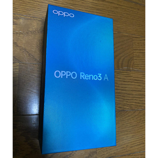 ANDROID - OPPO Reno3 A ブラック 新品未使用品
