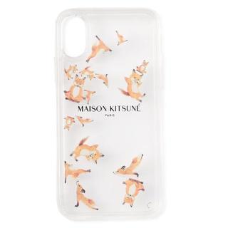 メゾンキツネ(MAISON KITSUNE')のMAISON KITSUNE IPHONE CASE AQUA YOGA FOX(その他)