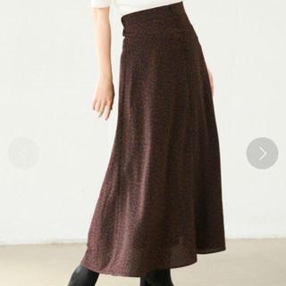 LOWRYS FARM - LOWRYSFARM レオパードAラインスカート