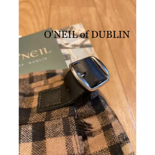O'NEILL - O'NEIL of DUBLIN チェック ひざ丈 スカート 新品!