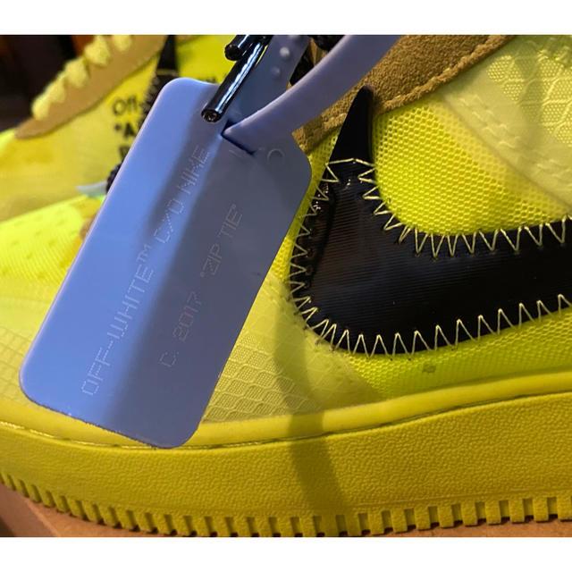 OFF-WHITE(オフホワイト)のoff-white エアーフォース1 ボルト size26.5 メンズの靴/シューズ(スニーカー)の商品写真