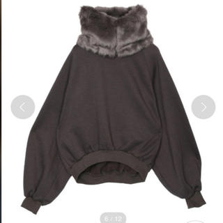 2WAY ECO FUR SWEAT