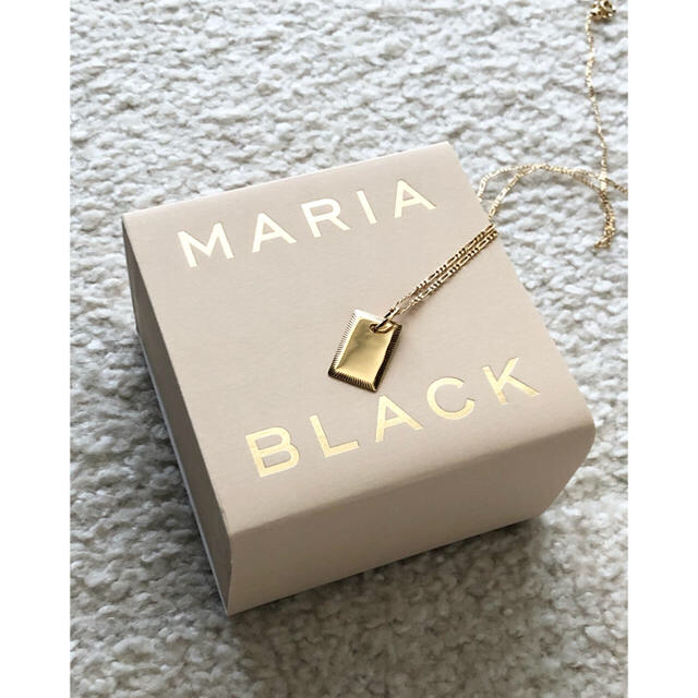 DEUXIEME CLASSE(ドゥーズィエムクラス)のMARIA BLACK マリアブラック Eliza Necklace ネックレス レディースのアクセサリー(ネックレス)の商品写真