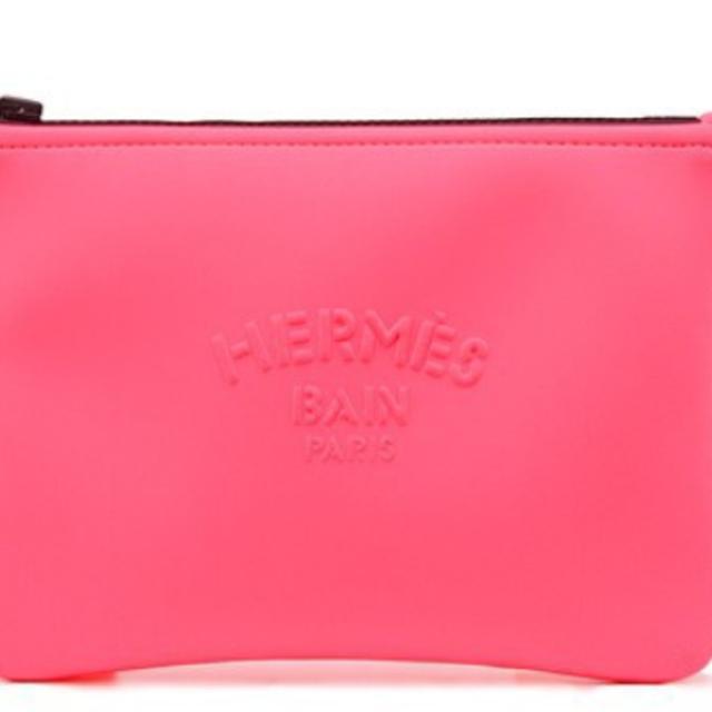 Hermes(エルメス)の新品・未使用 エルメス2020 ネオバンPM バブルガムポーチ レディースのファッション小物(ポーチ)の商品写真