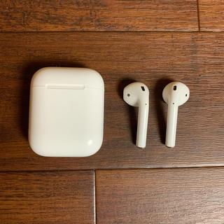 Apple - airpods 第2世代 エアーポッズ アップル apple siri