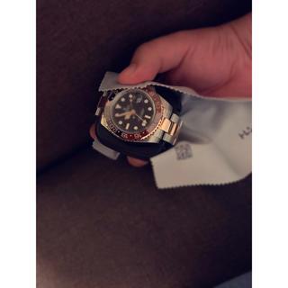 ROLEX - GMTマスターⅡ ピンクゴールド ブラウン ハイクオリティ 自動巻 時計