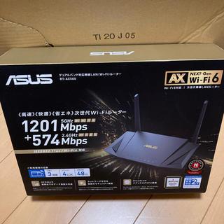 エイスース(ASUS)の🆕 RT-AX56U エイスース 無線LANルーター #770(PC周辺機器)