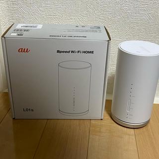 『年末値下げ!』美品✨HUAWEI SPEED WI-FI HOME L01S(PC周辺機器)