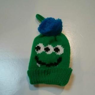 カルディ(KALDI)のカルディ ハロウィン モンスターニット帽 グリーン(ぬいぐるみ)