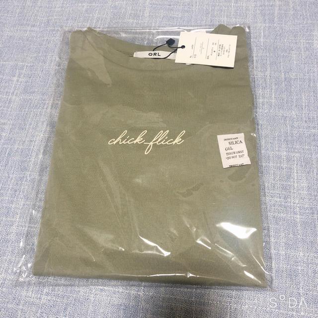 GRL(グレイル)のGRL 半袖Tシャツ レディースのトップス(Tシャツ(半袖/袖なし))の商品写真