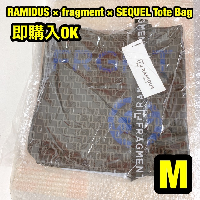 FRAGMENT(フラグメント)のFRAGMENT RAMIDUS SEQUEL TOTE BAG M トート 紺 メンズのバッグ(トートバッグ)の商品写真