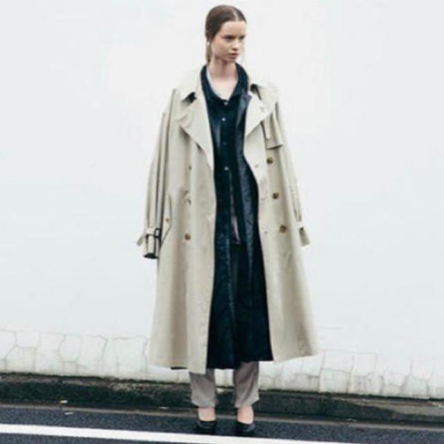 SUNSEA(サンシー)のstein LAY OVERSIZED TRENCH COAT M メンズのジャケット/アウター(トレンチコート)の商品写真