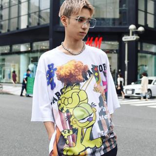 ミルクボーイ(MILKBOY)のLAND by MILK BOY ミルクボーイ CAT TOWN Tシャツ(Tシャツ/カットソー(半袖/袖なし))