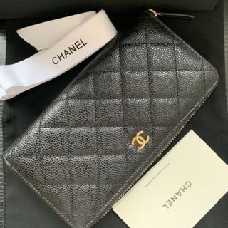 CHANEL - シャネル CHANEL 長財布 ブラック