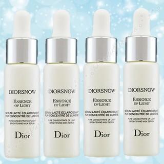 ディオール(Dior)の【Dior】 ディオールスノー エッセンス オブ ライト 美容液 7ml×4本(美容液)